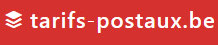tarifs postaux belgique