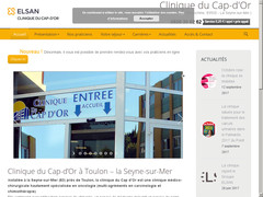 Clinique du Cap-d'Or à Toulon – la Seyne-sur-Mer